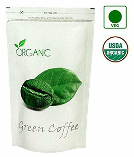 Organic Green Coffee Beans Decaffeinated amp; Roasted 200Gms For Weight Management