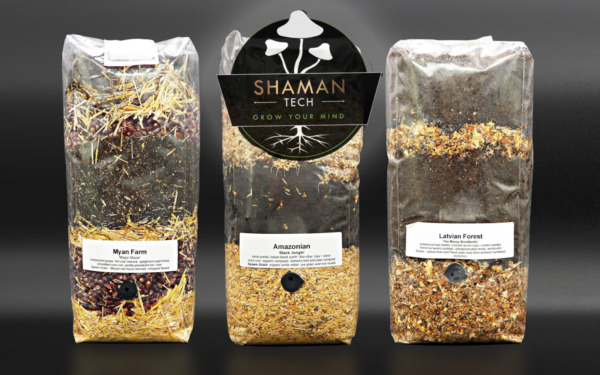 All in One  MUSHROOM GROWING BIO-BAG KIT:  Substrate + Spawn Sterilzed $26.00