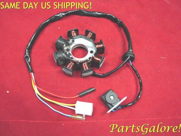 8 Coil 4 Wire AC Stator Magneto GY6 50cc QMB139 Chinese Scooter $24.95