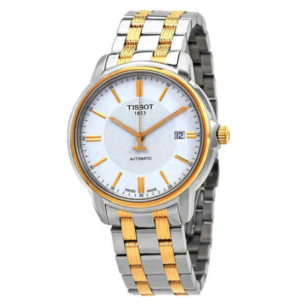 Tissot T Classic Automatic III White Dial Men#x27;s Watch T065.407.22.031.00 $262.48