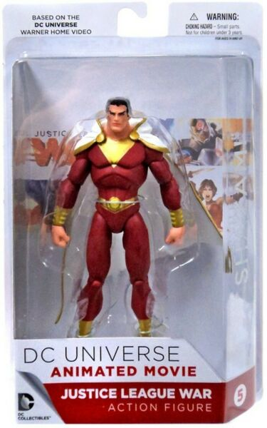 DC Universe Justice League War Shazam Action Figure Damaged Packaging