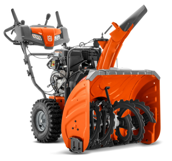 Husqvarna ST324 2-Stage Snow Blower (961930123) with heated hand grips!