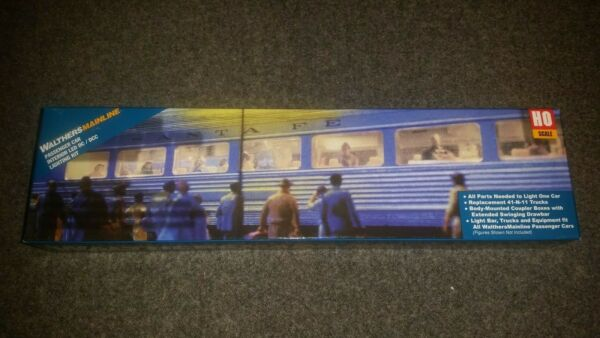 Walthers HO Scale Passenger Car LED Lighting Kit for Mainline Cars. DCDCC