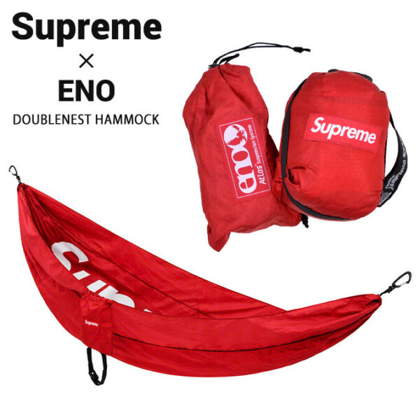 Supreme x DoubleNest Eno Hammock Red Accessories Outdoor Camping GBP 209.99