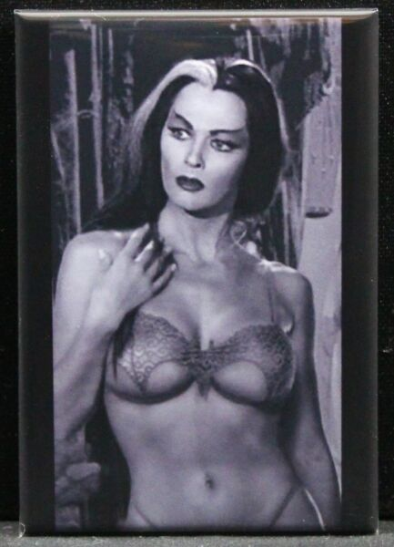 Sexy Lily Munster Pinup 2