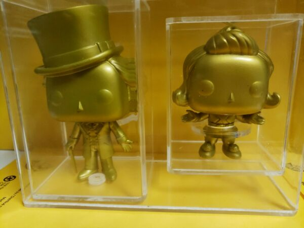 Pop! Vinyl Pop! Movies Willy Wonka & Oompa Loompa (Gold)(2-pack)read description