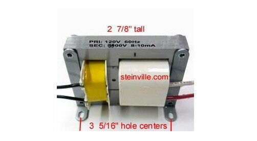 3500v Core and Coil Neon Beer SignAdvertising Clock Transformer  Power Supply