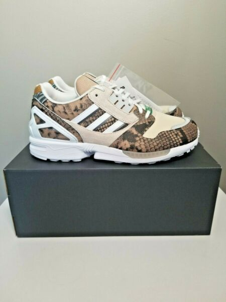 ADIDAS ZX8000 Lethal Nights Pack US sz 9.5 - Pale Nude - Chalk - Solar - FW2154