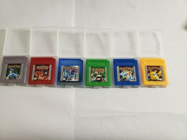 GBC Pokemon Games! Pick and Choose; NEW Tested with FREE Shipping USA SELLER