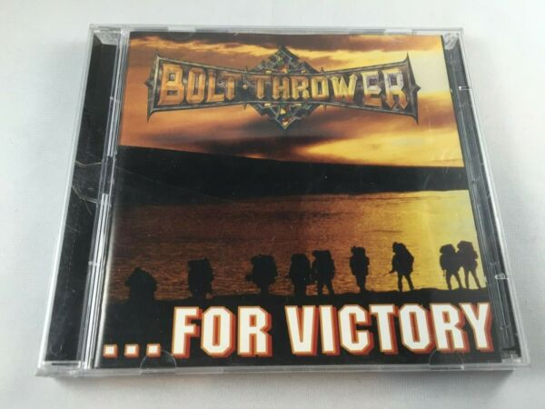 BOLT THROWER ...For Victory CD Earache Records Mosh 1201 2 disc set tested death