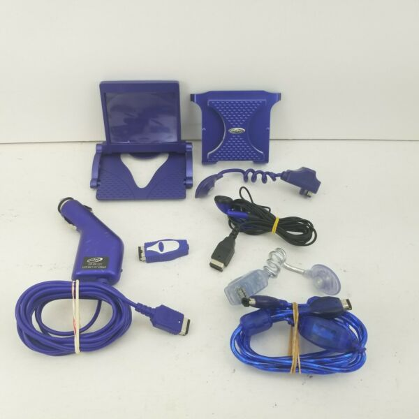 Intec for Nintendo SP Bundle Lot of Cables Dock Car Charger Headset