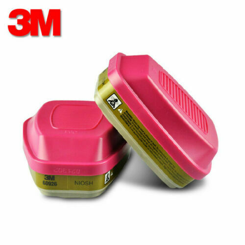 3M 60926 Organic VaporAcid Gas Replacement Cartridges 1 Pair - 60921 60923