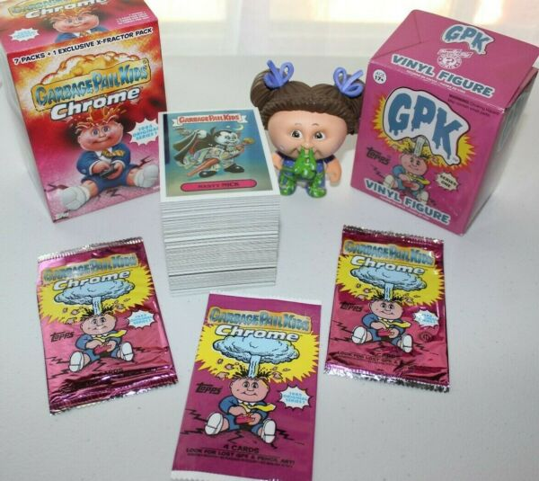 GARBAGE PAIL KIDS 2013 CHROME series 1 SET of 110 Cards +