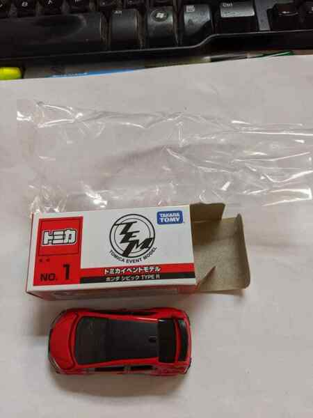 TOMY TOMICA EVENT MODEL 1 HONDA CIVIC TYPE R 2016 164 DIECAST 76 RED US Seller!