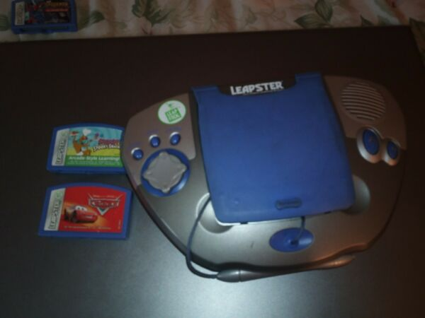 Leapster Leap Frog Learning System Original W screen protector and 2 games $9.00