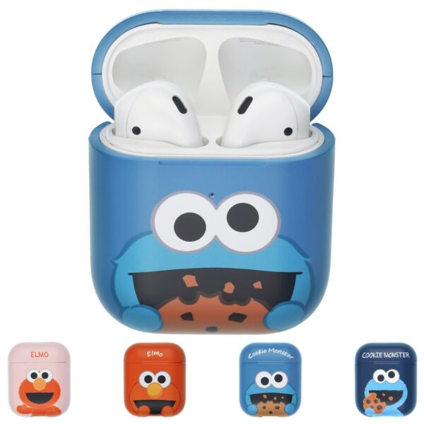 Sesame Street for AirPods Case Protective Hard Shell Cover LED Visible Accessory $18.90