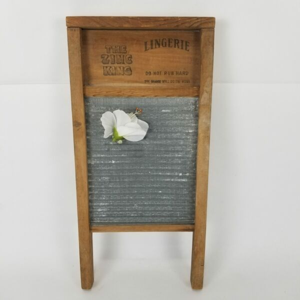 Small Antique Lingerie Washboard