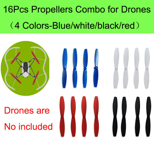 4 Sets Propeller Props Blade Guard Accessories For Parrot Drone Mambo Minidrones