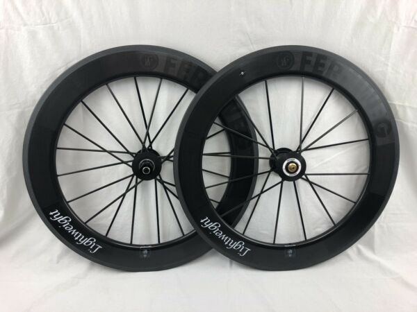 LIGHTWEIGHT Germany FERNWEG 80 Clincher Wheelset Rim Brake ShimanoSRAM NIB