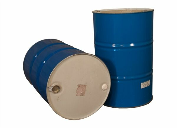 Set Of 10 55 Gallon Steel Drums PICKUP ONLY $30.99