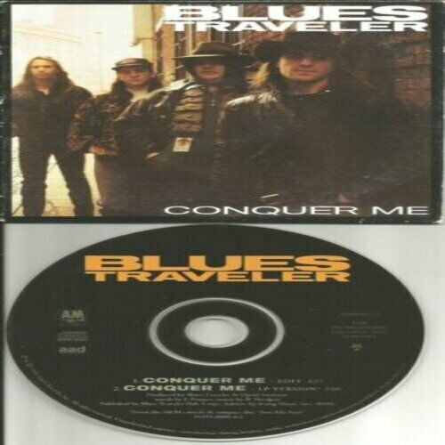 John Popper BLUES TRAVELER Conquer Me  (CD) Ships WO Case OR W Case