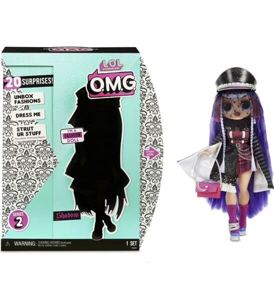 LOL Surprise OMG Series 2 Doll Shadow 20 Surprises New in Box Free Shipping
