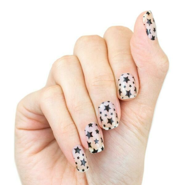 Color Street Star For The Course Brand New Clear Overlay Fourth Of July $14.00