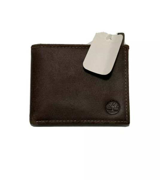 Timberland Leather Wallet Bifold Billfold New With Tags $15.00