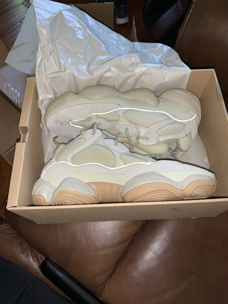 Adidas Yeezy 500 Stone Size 10.5 DEADSTOCK 100% AUTHENTIC
