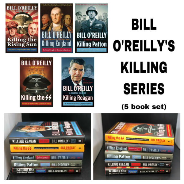 Bill O#x27;Reilly#x27;s Killing Series Bestselling Novels Collection of 5 Hardcover book