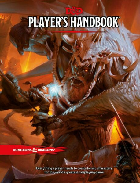 Dungeons & Dragons, Fifth Edition: Players Handbook (Hardcover)