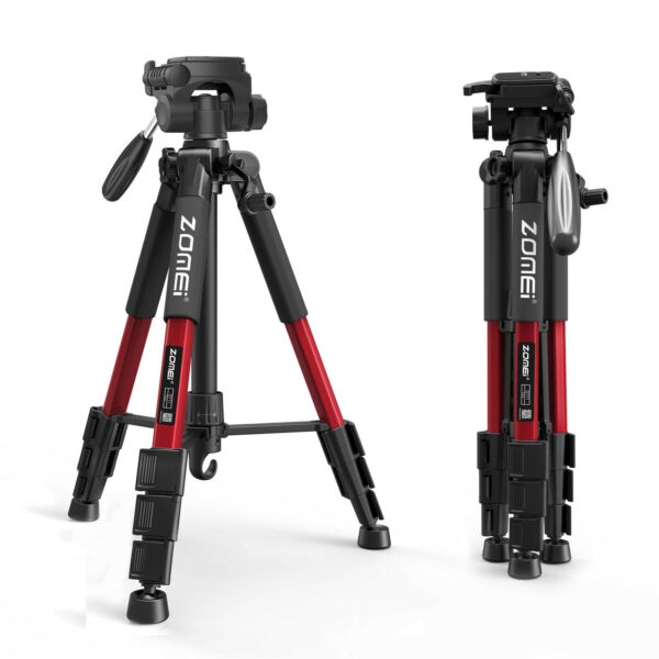 Professional Tripod for Digital Camera DSLR Camera Video Tilt Pan Head Live Phot
