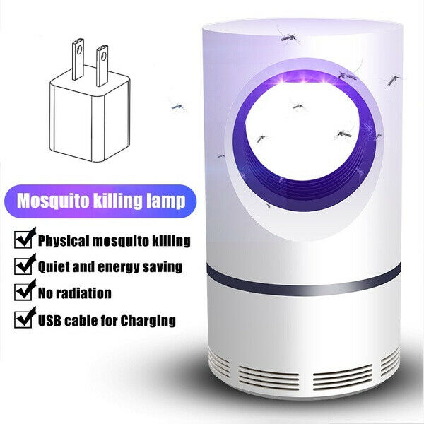 Electric Mosquito Insect Killer Lamp Zapper LED Light Fly Bug Trap Pest Control $12.99
