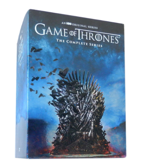GAME OF THRONES THE COMPLETE SERIES SEASONS 1-8 DVD (38 DISC) Free shipping