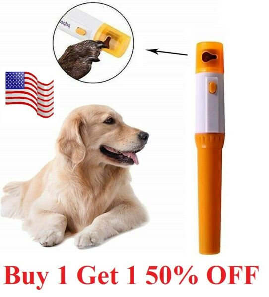 Electric Dog pet Nail Grinder Clippers Cutters Trimmer Painless for Small Dog $5.99