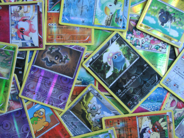 Unplayed Pokemon Cards Reverse Holo Foil Common Only NM M