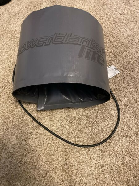 Powerblanket Lite Insulated Pail Heater 5 Gallon Capacity