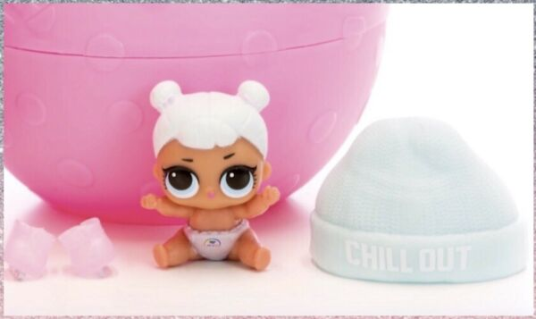 LOL Surprise LIL SNOW ANGEL Series 2 Lil Sisters Authentic Sealed in L.O.L. Ball