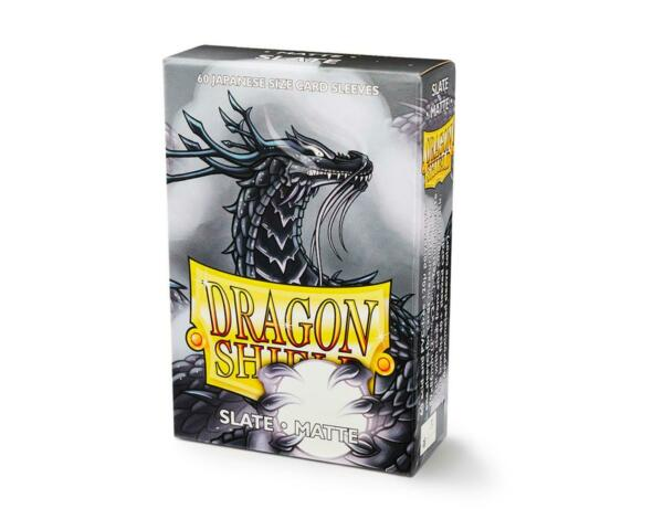 Japanese Matte Slate 60 ct Dragon Shield Sleeves YuGiOh Size 10% OFF 2 $7.65