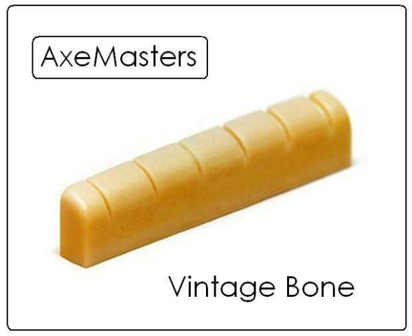 AxeMasters UNBLEACHED BONE NUT made for IBANEZ Electric and Acoustic Guitar $16.00