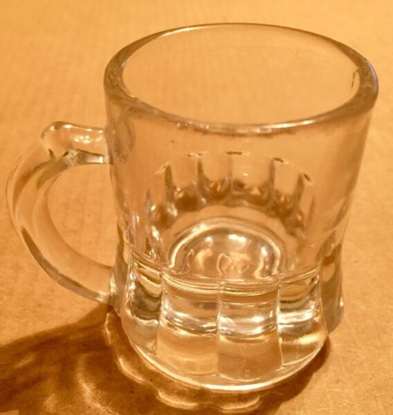 Vintage 1970's Federal Mini Shot Glass