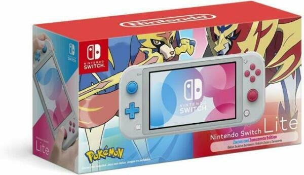 Nintendo Switch Lite Zashian and Zamazenta Edition Console