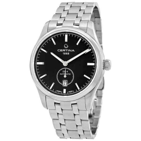 Certina DS-4 Small Second Automatic Black Dial Men's Watch C022.428.11.051.00 $313.95