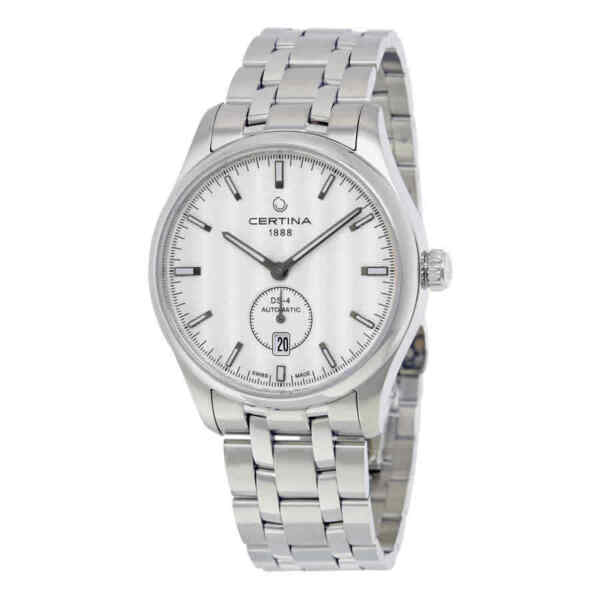 Certina DS-4 Small Second Automatic Silver Dial Men's Watch C022.428.11.031.00 $313.95