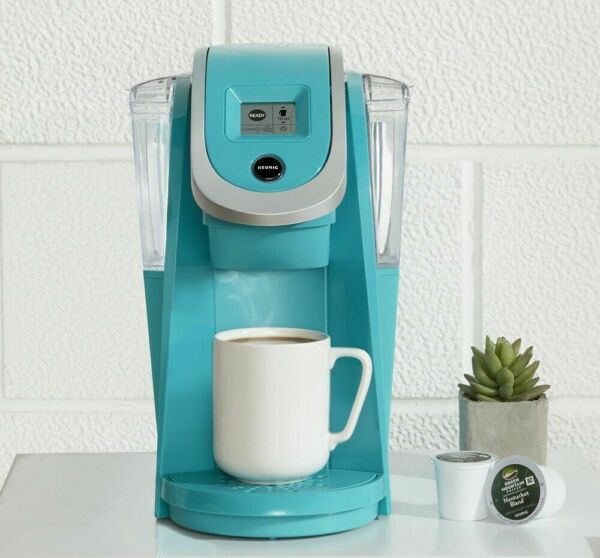 Keurig Hot K250 Plus Series Turquoise Single Serve Plus Coffee Maker NEW