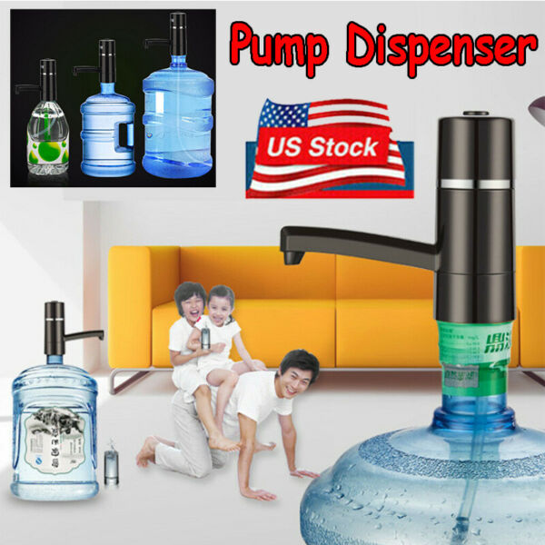 Automatic Wireless Electric Gallon Bottle Water Pump Drinking Water Dispenser $27.99