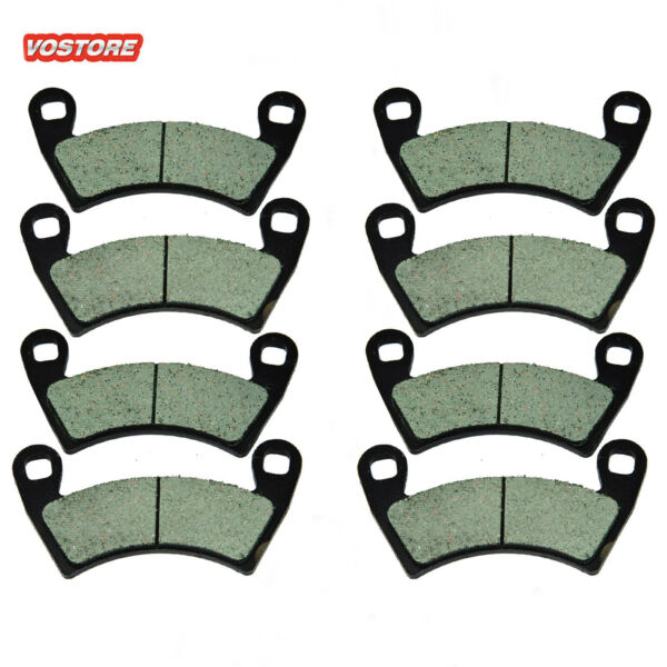 Front Rear Carbon Brake Pads Fit For Polaris 2205949 22037471911228 FA452 $18.94