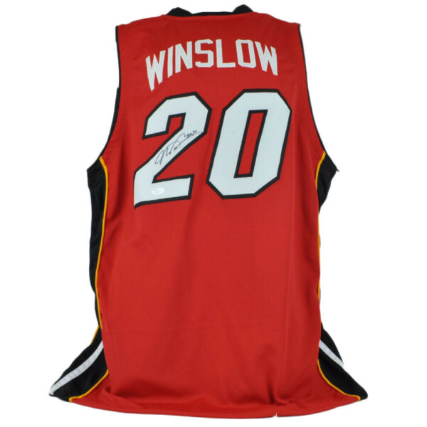 Justise Winslow Miami Heat #20 Autographed Signed Jersey JSA Certified Red $84.99
