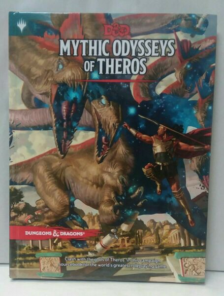 Dungeons & Dragons~Mythic Odysseys of Theros~Hardcover Campaign Sourcebook