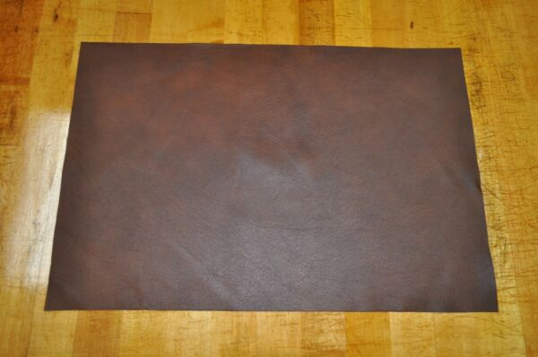 NEW! Soft Thin Brown Craft Leather Piece 12